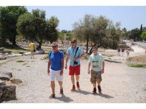 'Antalya'da kültür ve arkeolojik varlıkları tanıma turları' yüzde 50 azaldı