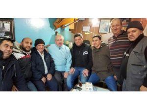 Başkan Albayrak Balıkçılara 'Hayırlı İşler' Diledi