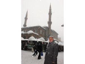 Ağrı'da Kar Yağışı