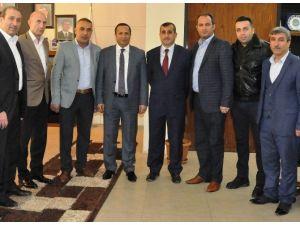 Sporculardan Başkan Toltar'a Teşekkür Ziyareti