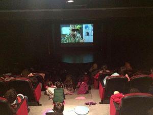 Öğrenciler Tatilin Son Gününde Sinema Keyfi Yaşadılar