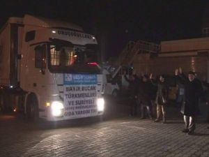 Malatya'dan, Bayırbucak Türkmenlerine 23 Ton UN Gönderildi