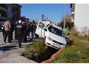 Ortaca'da Trafik Kazası; 1 Yaralı