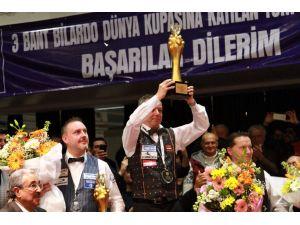 3 Bant Dünya Bilardo Şampiyonu Dick Jaspers oldu