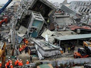 Tayvan'daki depremde ölü sayısı 36'ya yükseldi