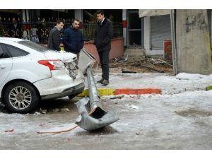 Şırnak'ta MOBESE'ye Eyp'li Saldırı