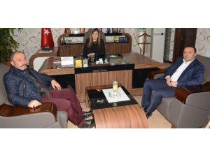 AK Parti Grup Başkanvekili İnceöz'den Topakkaya'ya Ziyaret