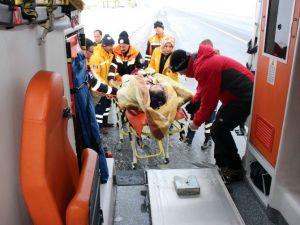 Muş'ta Hasta Kurtarma Operasyonu