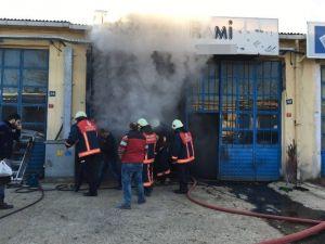 Yangında Yaralanan Şahsa Hava Ambulanslı Müdahale