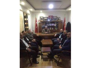 Viranşehir TSO'ya 'Hayırlı Olsun' Ziyareti