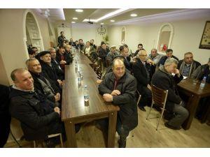 Yanan Dereköy Mahalle Camisini İnşa Çalışmaları