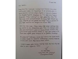 KKTC Meclis Başkanı Sibel Siber Anıtkabir'i ziyaret etti