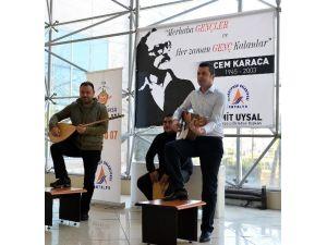 Cem Karaca Muratpaşa'da Unutulmadı