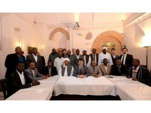Dündar Sudanlı Belediye Başkanlarını Ağırladı
