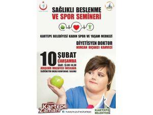 Kartepe Belediyesi'nden Sağlıklı Beslenme Ve Spor Semineri