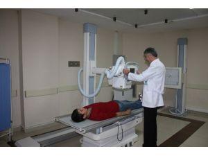 Niğde Devlet Hastanesine Yeni Röntgen Cihazı
