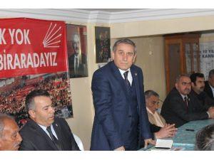 CHP Parti Meclis Üyesi Yıldırım Kaya Düziçi'nde