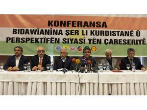Kürt partilerden çağrı: Hükümet savaşı terk etsin, PKK hendekleri kapatsın