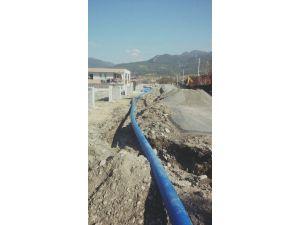 Dörtyol'da İçme Suyu Şebeke Yenileme Çalışması
