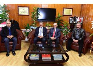 Başkan Gürkan, Evren'i Ziyaret Etti