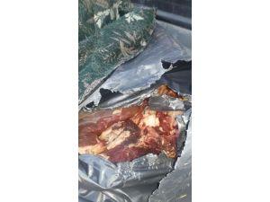 Edirne'de 2 Ton 370 Kilogram Kaçak ET Ele Geçirildi