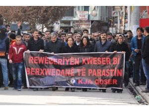 Kızıltepe'de İzinsiz Yürüyüşe Müdahale