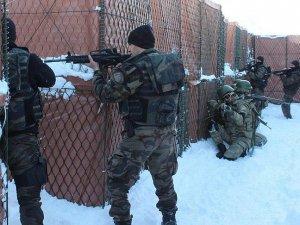 Asker ve polisten ortak tatbikat
