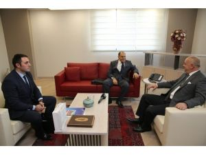 Recydia A.ş'den Başkan Ergün'e Ziyaret