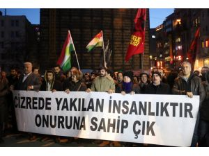 Beyoğlu'nda HDP'li gruba polis müdahalesi