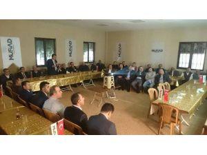 Başkan Erkoç, MÜSİAD Üyeleriyle Bir Araya Geldi