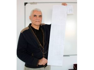 Yeni Bulduğu Formülü Milli Eğitim Bakanlığı'na Gönderdi