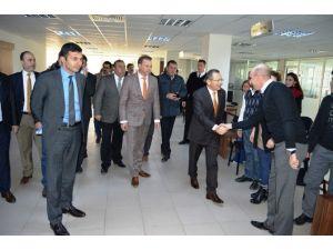 Başkan Uğur Baski'yi Ziyaret Etti