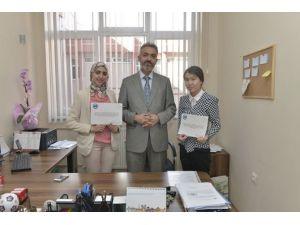 KMÜ'de Mevlana Değişim Programı Öğrencilerine Sertifika Verildi