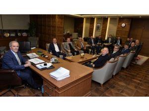 Sanayicilerden Başkan Altepe'ye Ziyaret