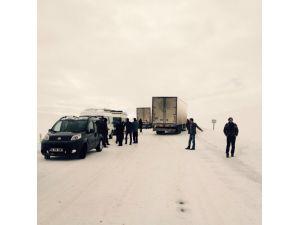 Erzurum-Muş karayolu kapandı