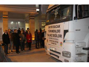 Bayırbucak Türkmenlerini ısıtacak el örgüsü kazaklar yola çıktı