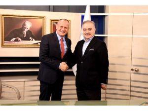 Başkan Mehmet Keleş'e İpsiz Recep Yapımcısından Ziyaret