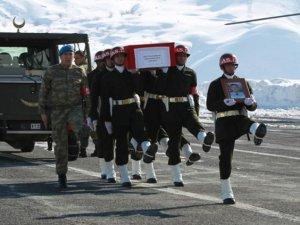 Şehit polis Abdulkadir Oğuz'a son veda