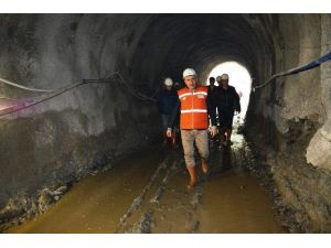 Turgay Özgür Yeniköy Baraj İnşaatını İnceledi