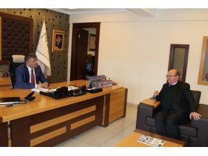 Çukurova Gazeteciler Cemiyetinden Başkan Akdoğan'a Ziyaret