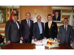 AK Parti Eskişehir Teşkilatına Sürpriz Ziyaret