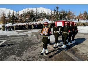 Şehit Polise Hüzünlü Tören