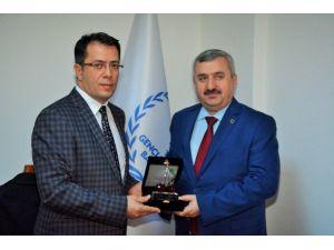Başkan Baran, Spor İl Müdürünü Ziyaret Etti