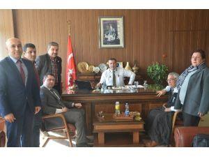 Mersin Sivil Toplum Birliği'nden Müdür Koca'ya Ziyaret