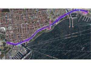 Bakırköy sahildeki transit yol kaldırılıyor