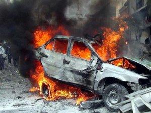 Şam'da bomba yüklü araçla saldırı: 7 ölü