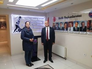 Başkan Güneş Ankara'da Ziyaretlerde Bulundu