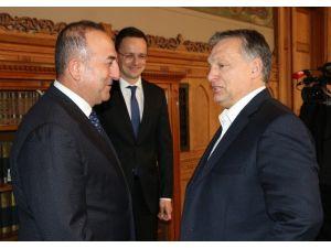 Bakan Çavuşoğlu, Macaristan Başbakanı Orban İle Görüştü