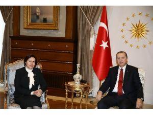 Danıştay Başkanı Güngör Cumhurbaşkanlığı Külliyesi'nde
