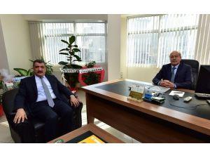 Gürkan, Tarsim Bölge Müdürü Doğan'ı Ziyaret Etti